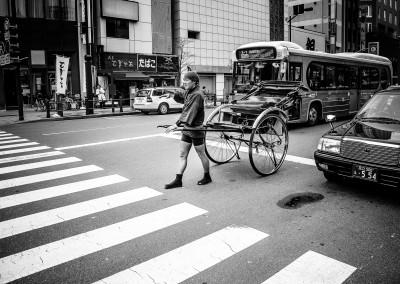 Taxi driver at Tokyo
